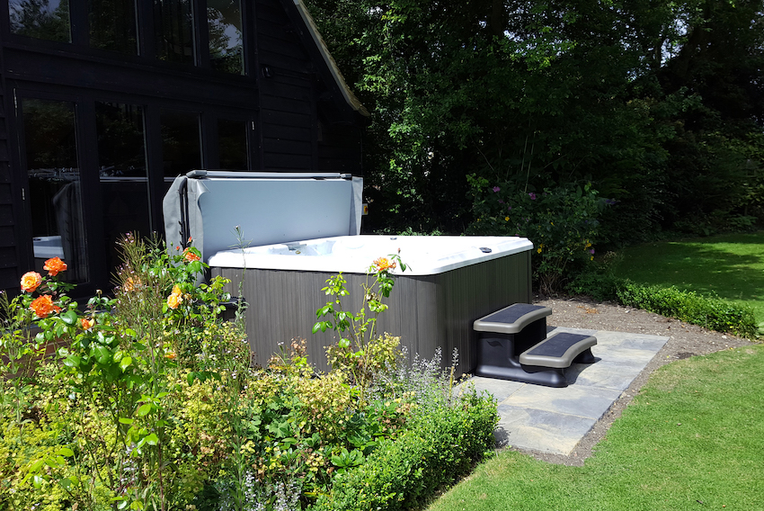 Hot Tub Village installation photo