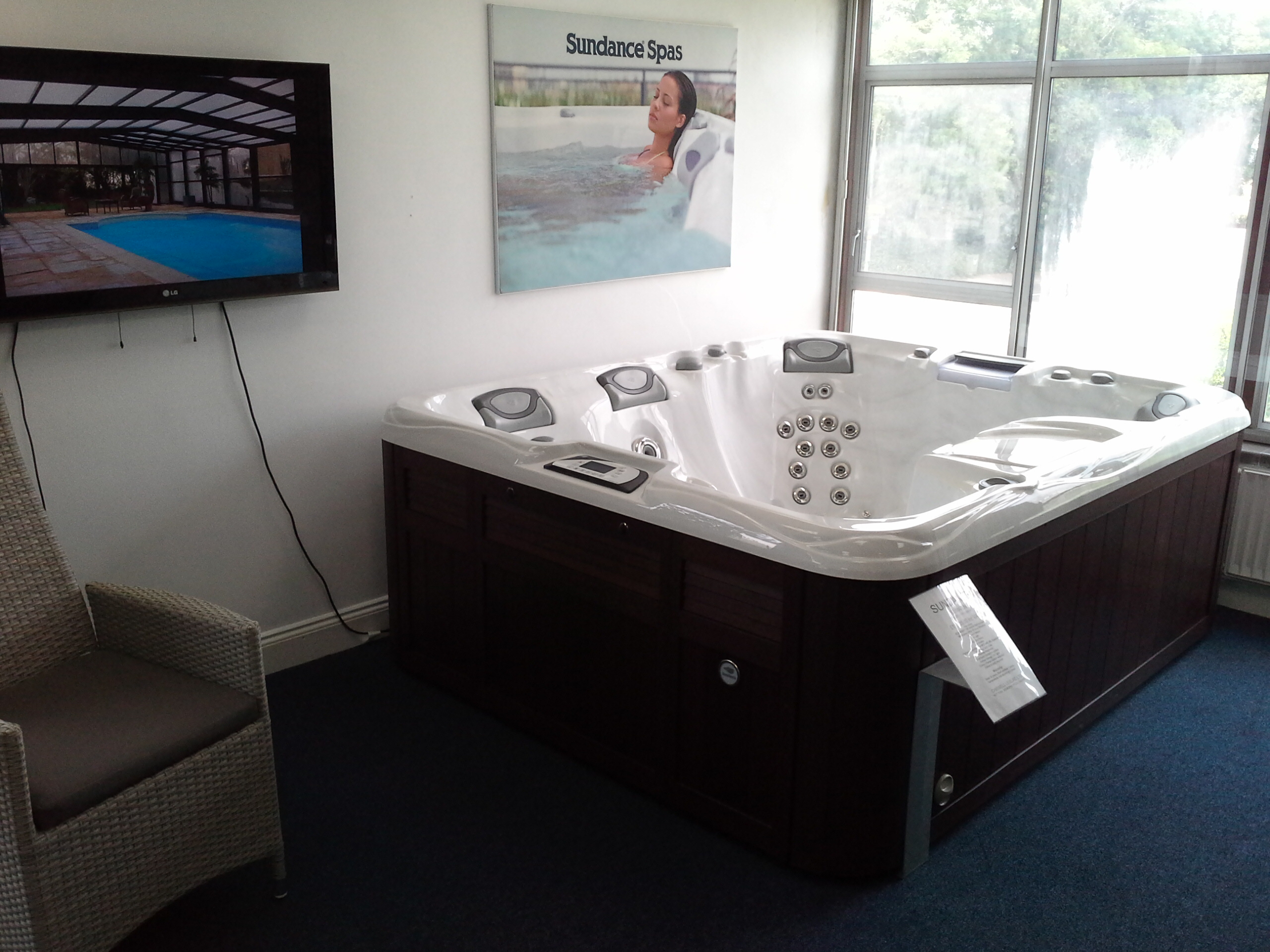 Chiswell Leisure Ltd showroom photo