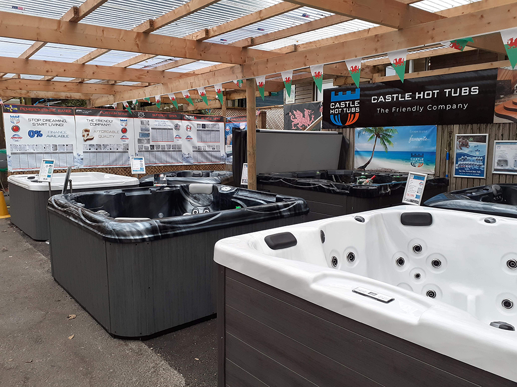 Castle Hot Tubs (Bridgend) showroom photo