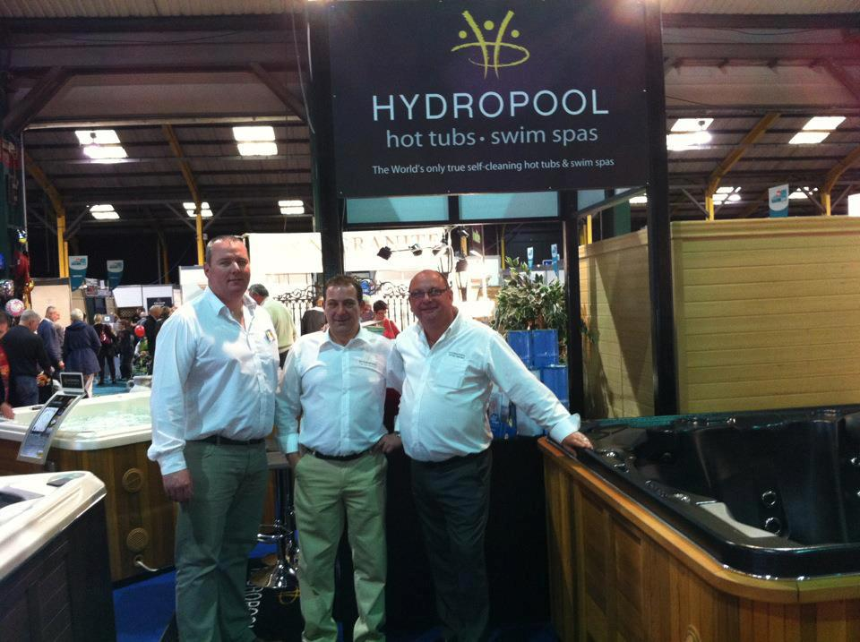 Hydropool Ireland installation photo