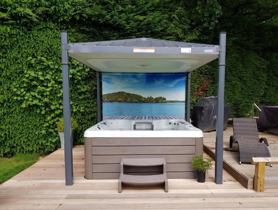 Pools & Spas Windlesham installation photo