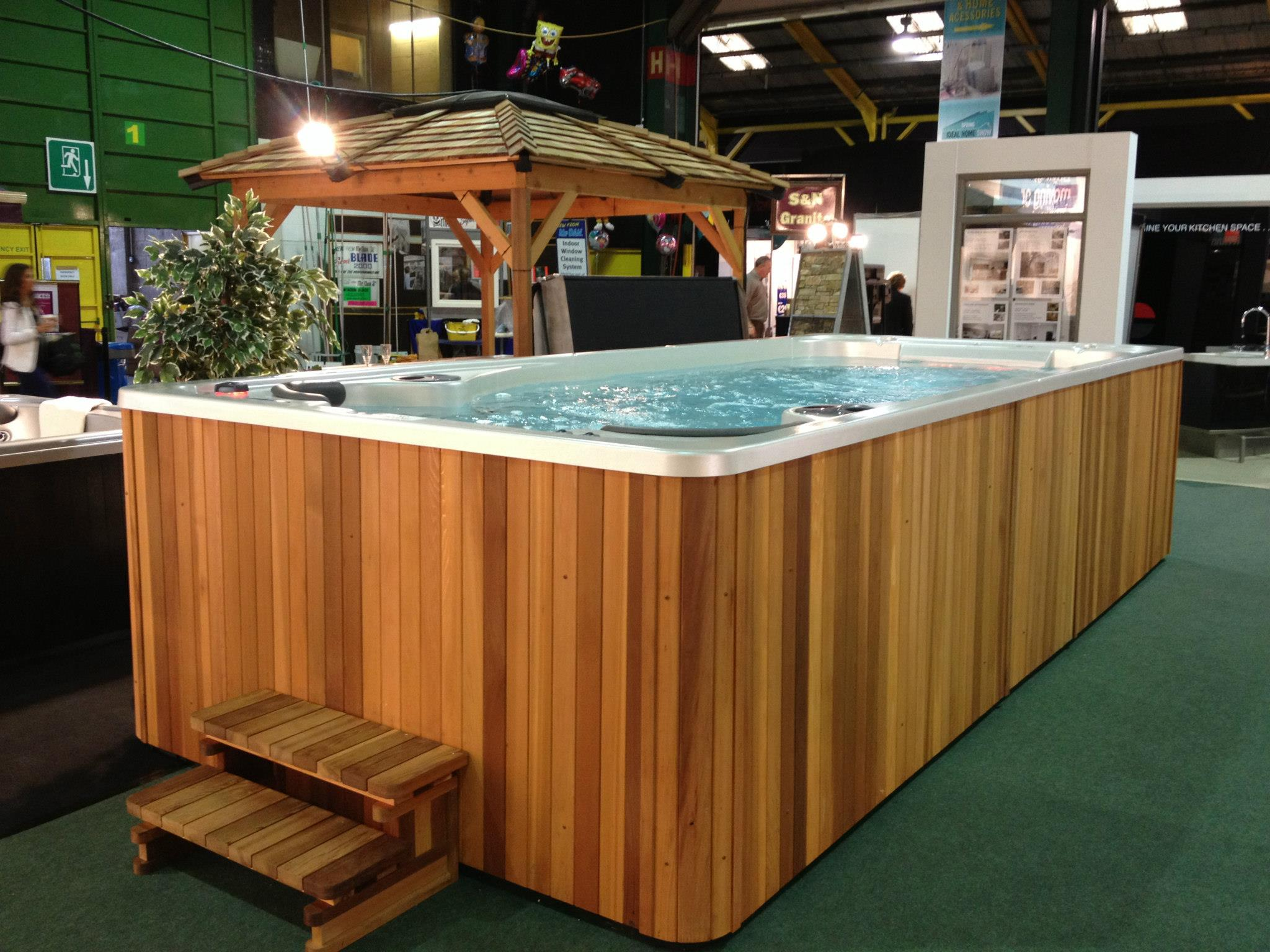 Hydropool Ireland showroom photo