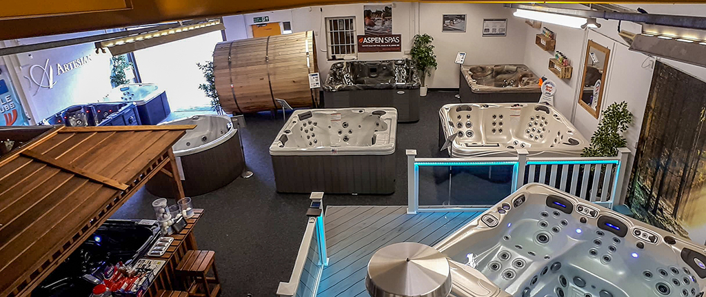 Castle Hot Tubs (Swansea) showroom photo