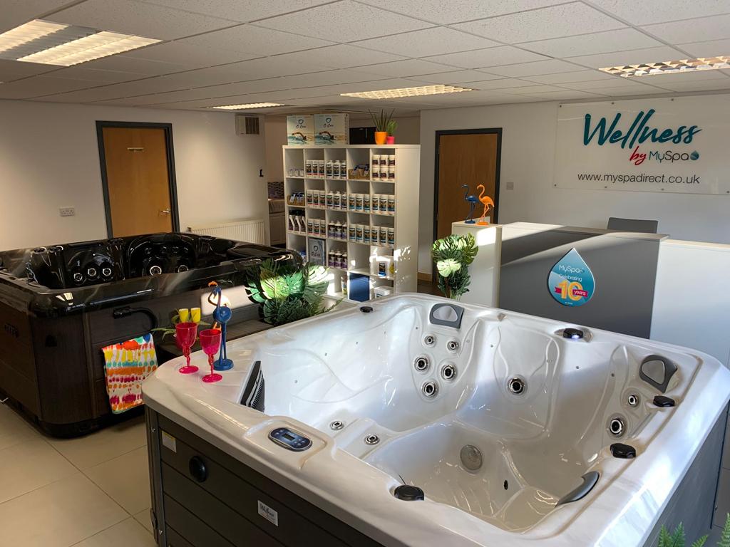 MySpa Cheshire showroom photo
