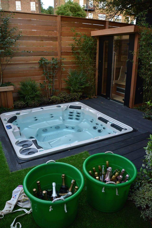 The Hot Tub and Swim Spa Company installation photo
