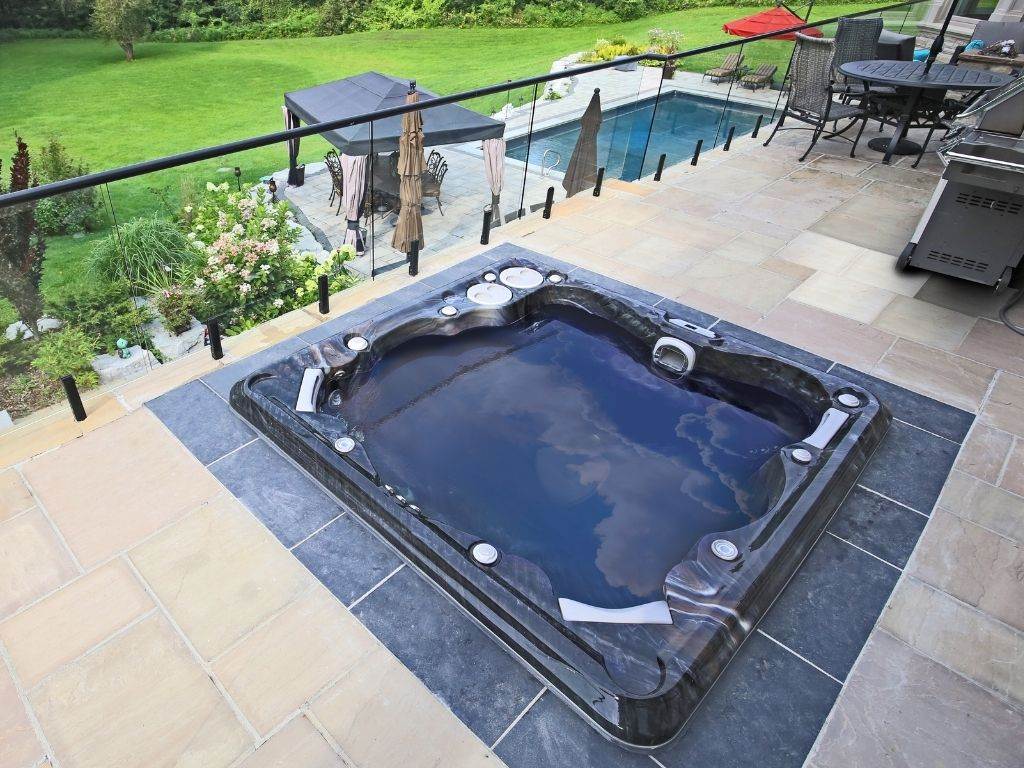 Hydropool Sussex installation photo