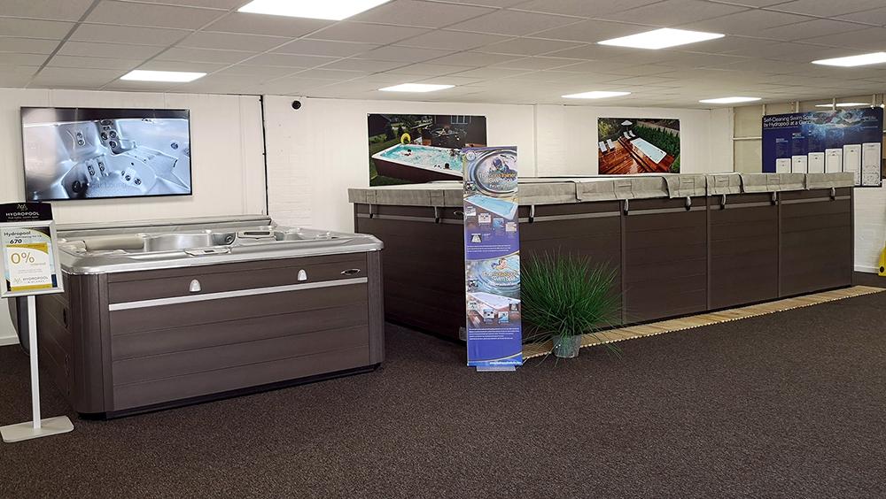 Hydropool Midlands showroom photo