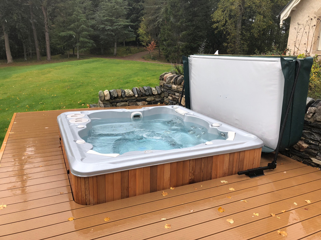 Hydropool Highlands Scotland installation photo
