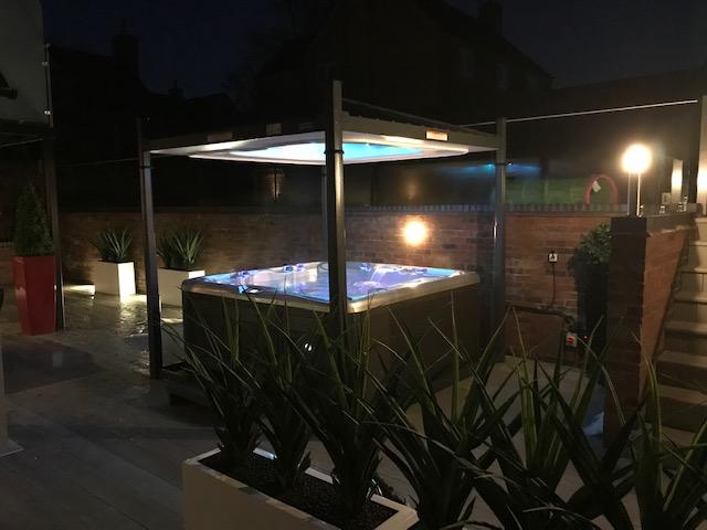 MySpa (UK) Ltd installation photo