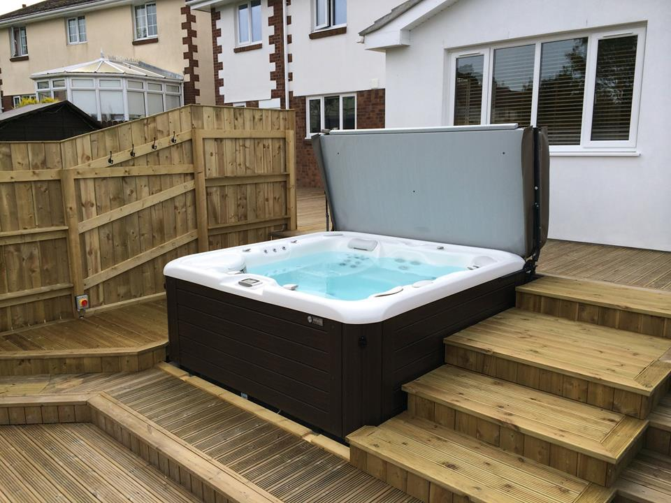 Blue Lagoon Spas Ltd installation photo