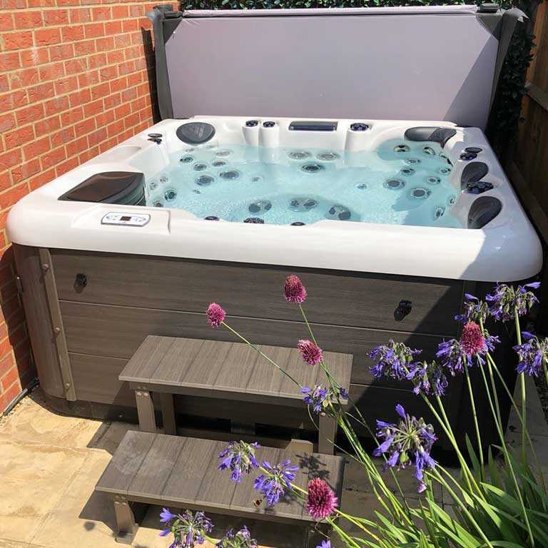 UK Hot Tubs installation photo