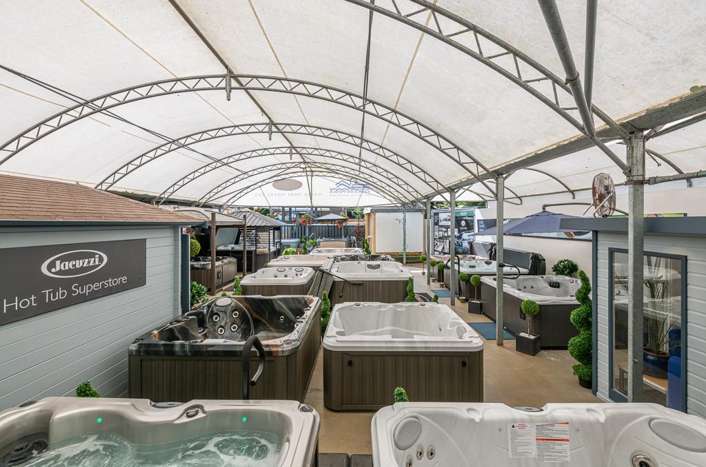 Oyster Pools & Hot Tubs Ltd showroom photo