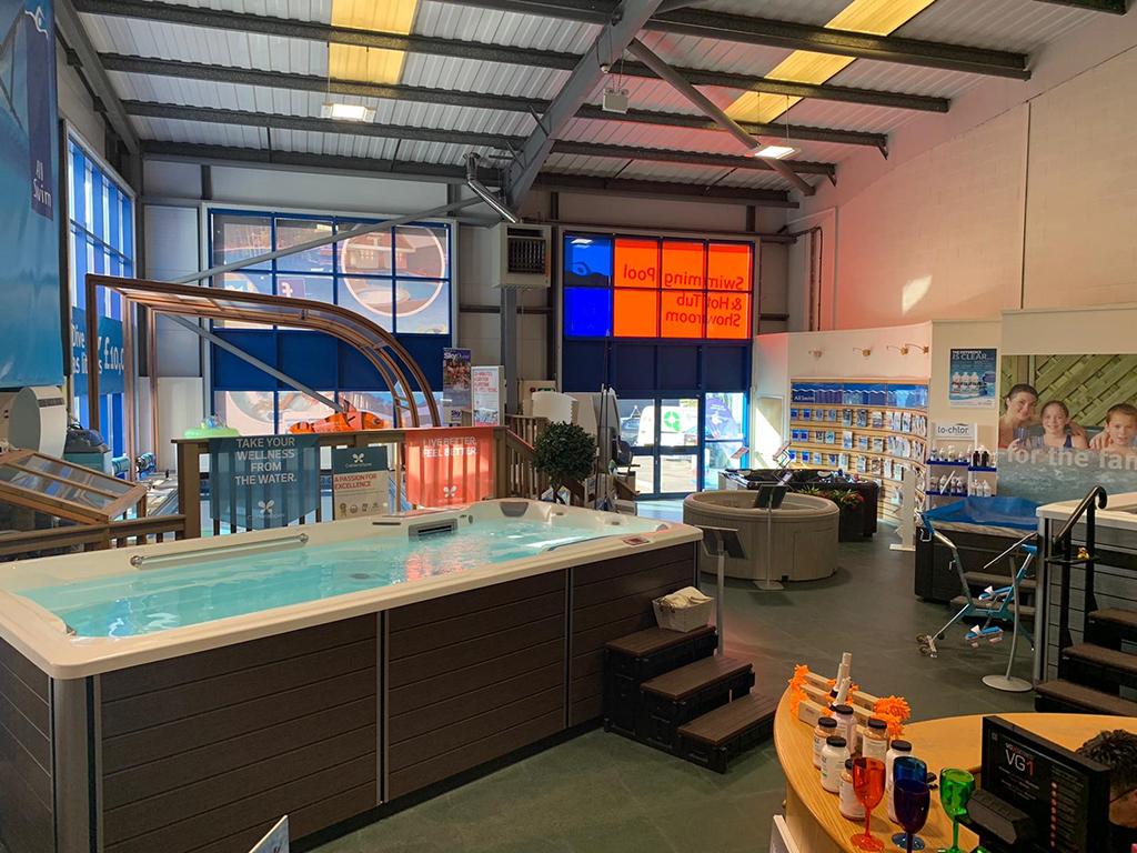 All Swim Ltd showroom photo
