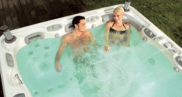 The Hot Tub Man showroom photo