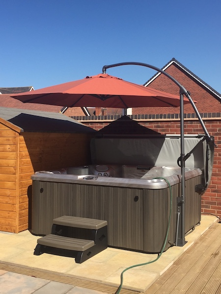 Hot Tub Studio Bicester installation photo