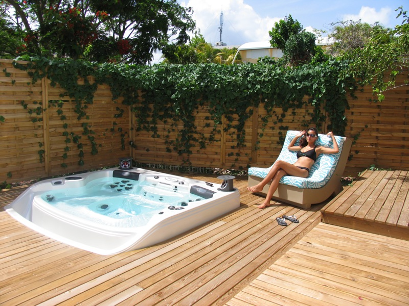 Hot Tubs At Home installation photo