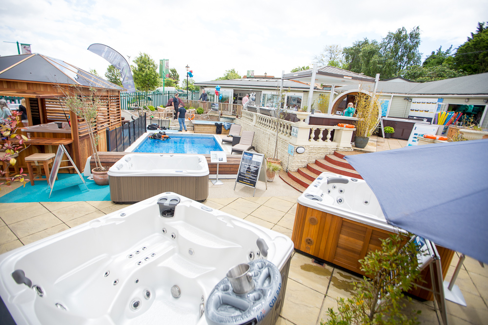 The Hot Tub and Swim Spa Company showroom photo