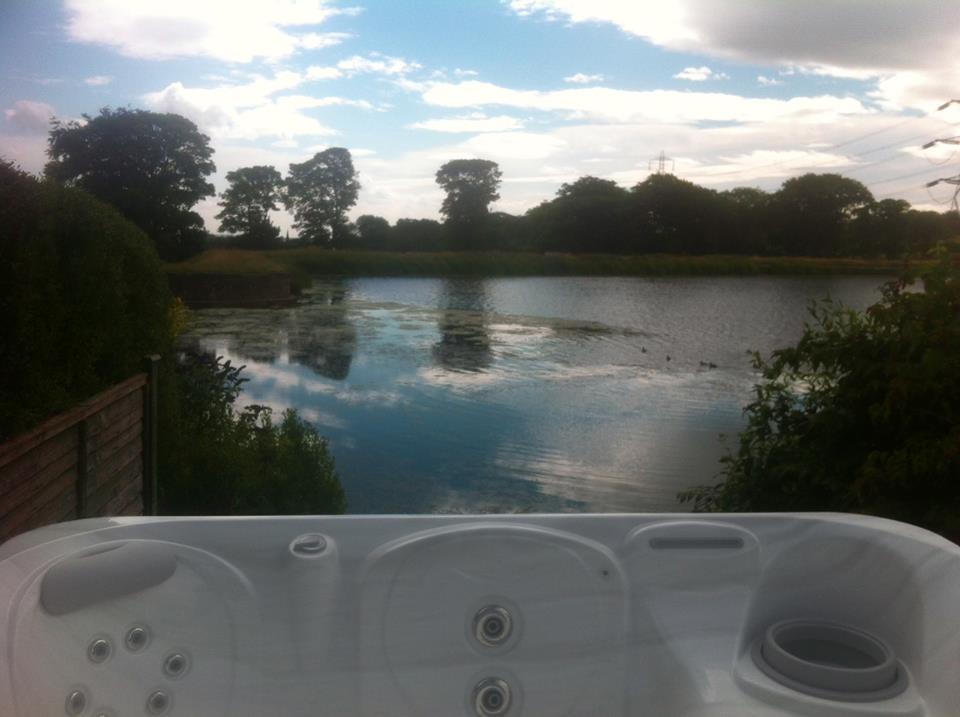 Hot Tub World installation photo
