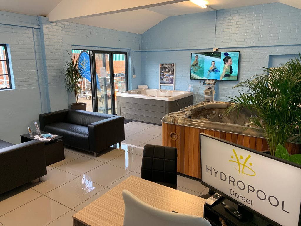 Hydropool Dorset showroom photo