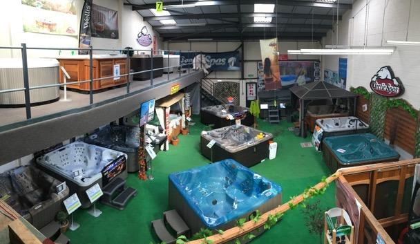 The Hot Tub & Swim Spa Centre showroom photo